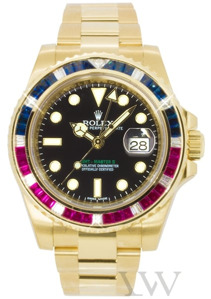 Rolex Oyster Perpetual GMT-Master II Yellow Gold 116748-SARU