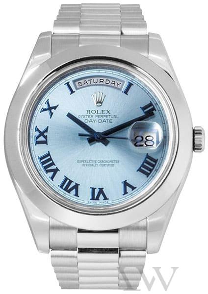 Rolex Oyster Perpetual Day-Date II Platinum 218206
