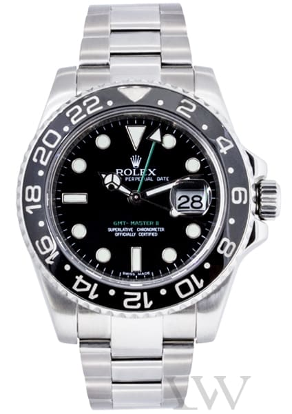 Rolex Oyster Perpetual GMT-Master II Stainless Steel 116710LN