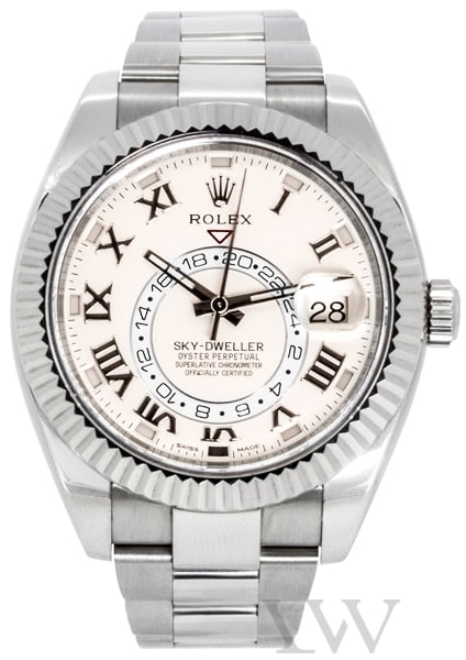 Rolex Oyster Perpetual Sky-Dweller White Gold 326939