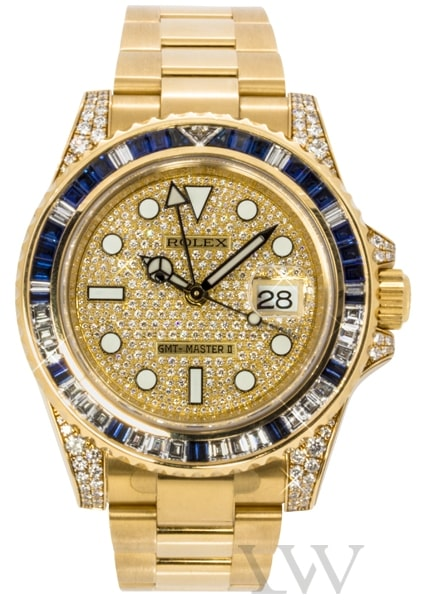 Rolex Oyster Perpetual GMT-Master II Yellow Gold 116758 SA