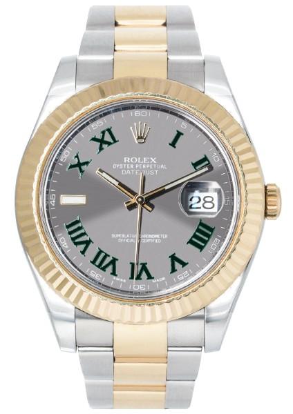 Rolex Oyster Perpetual Datejust II Bi-metal 116333