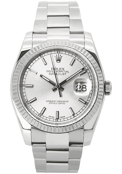 Rolex Oyster Perpetual Datejust 36mm Stainless Steel 116234