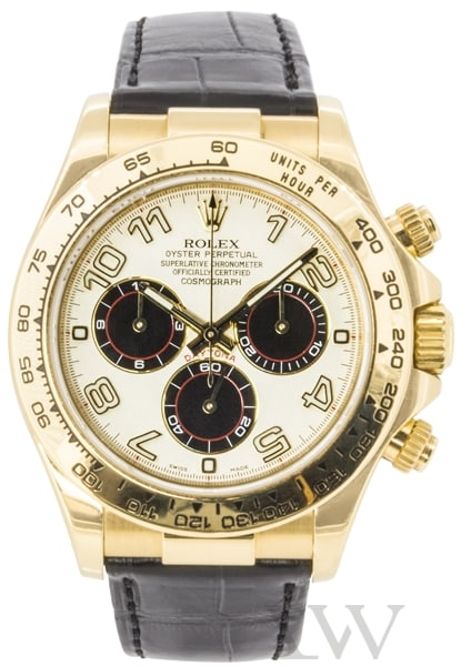 Rolex Oyster Perpetual Daytona Yellow Gold 116518