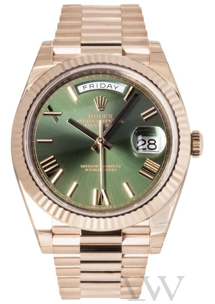 Rolex Oyster Perpetual Day-Date 40 '60th Anniversary' Rose Gold 228235