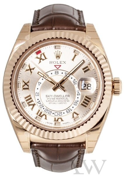 Rolex Oyster Perpetual Sky-Dweller Rose Gold 326135