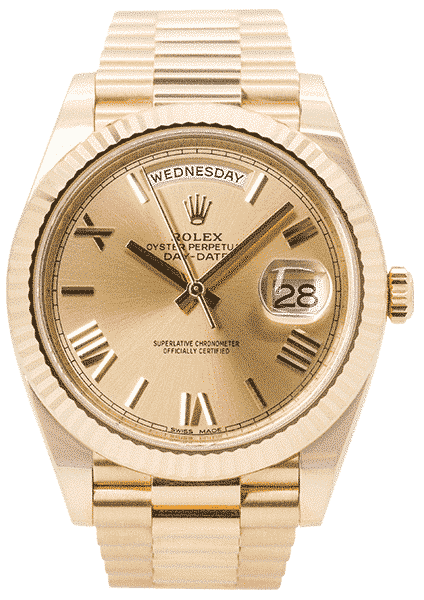 Rolex Oyster Perpetual Day-Date 40 Yellow Gold 228238