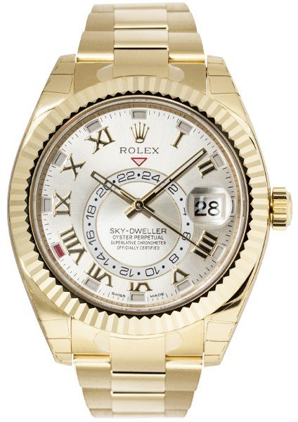Rolex Oyster Perpetual Sky-Dweller Yellow Gold 326938
