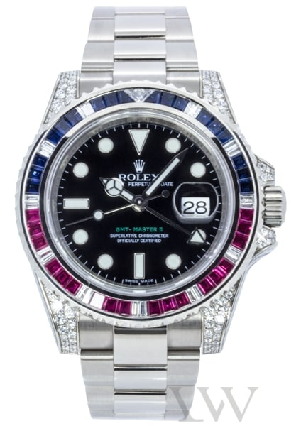 Rolex Oyster Perpetual GMT-Master II White Gold 116759 SARU