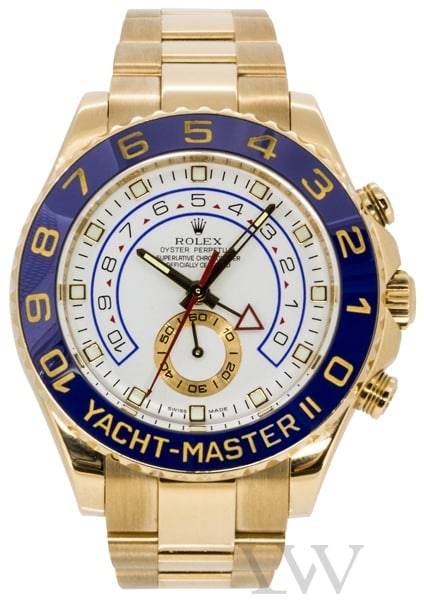 Rolex Oyster Perpetual Yacht-Master II Yellow Gold 116688