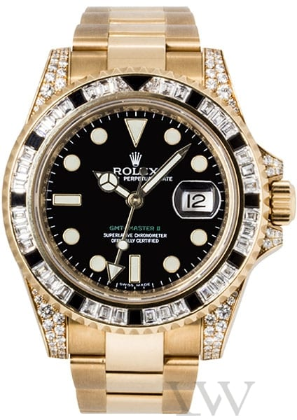 Rolex Oyster Perpetual GMT-Master II Yellow Gold 116758 SANR
