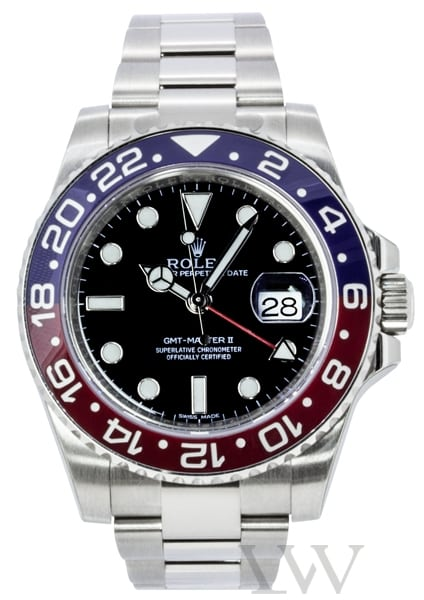 Rolex Oyster Perpetual GMT-Master II White Gold 116719BLRO
