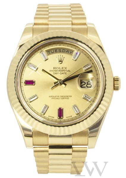 Rolex Oyster Perpetual Day-Date II Yellow Gold 218238