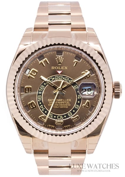 Rolex Oyster Perpetual Sky-Dweller Rose Gold 326935