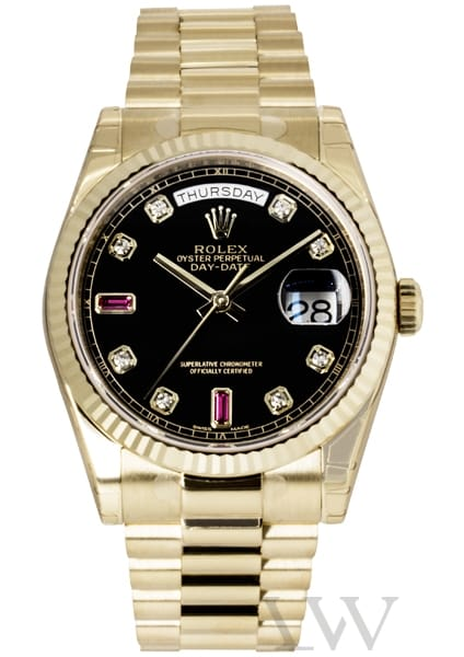Rolex Oyster Perpetual Day-Date Yellow Gold 118238