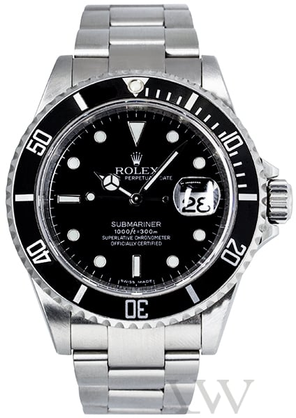 Rolex Oyster Perpetual Submariner Stainless Steel 16610