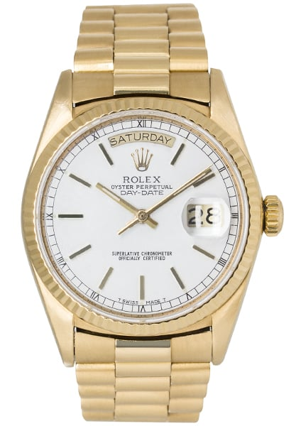 Rolex Oyster Perpetual Day-Date 36mm Yellow Gold 18038