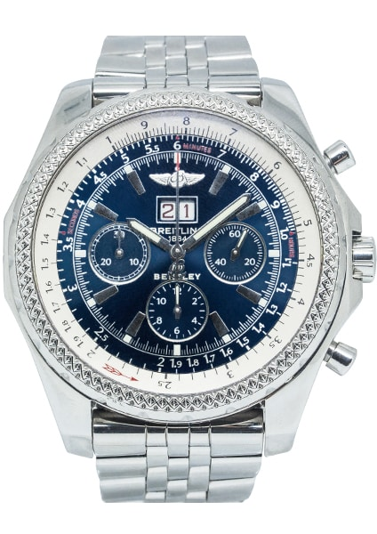 Breitling Bentley 6.75 Stainless Steel A44362