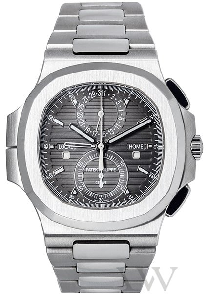 Patek Philippe Nautilus 5990/1A-001 Travel Time Chronograph Stainless Steel