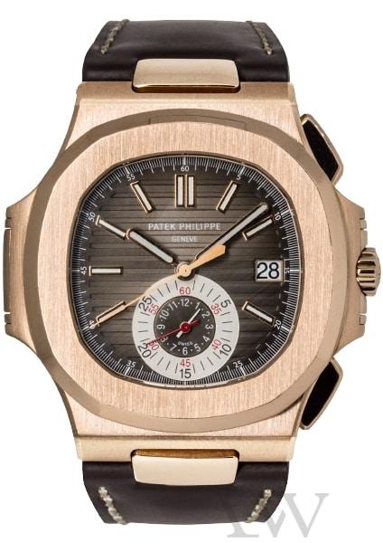 Patek Philippe Nautilus Chronograph 18ct Rose Gold 5980R-001