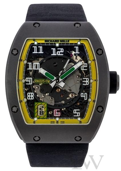 Richard Mille RM 005 Felipe Massa Titanium AG TI