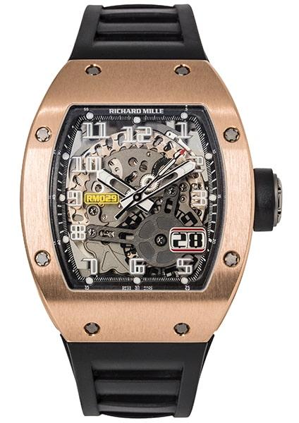 Richard Mille RM 029 Rose Gold Automatic AL RG
