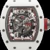 "Richard Mille RM 030 White Ceramic ""Japan Red"" Edition"