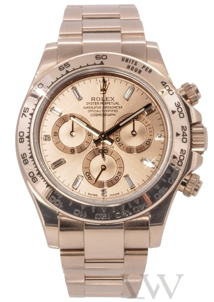 Rolex Oyster Perpetual Cosmograph Daytona Rose Gold 116505