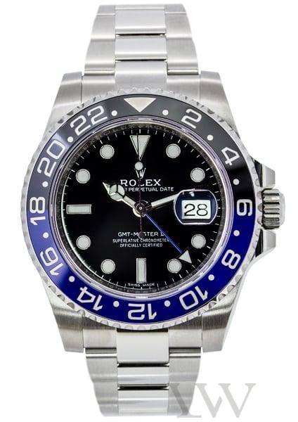 "Rolex Oyster Perpetual GMT-Master II ""Batman"" 116710BLNR"
