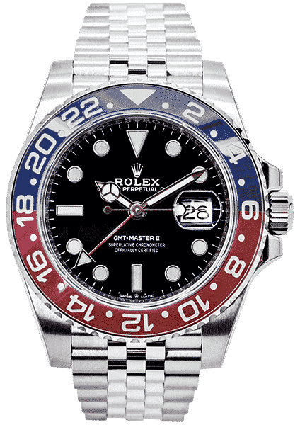 """Rolex Oyster Perpetual GMT-Master II """"Pepsi"""" Stainless Steel 126710BLRO"""