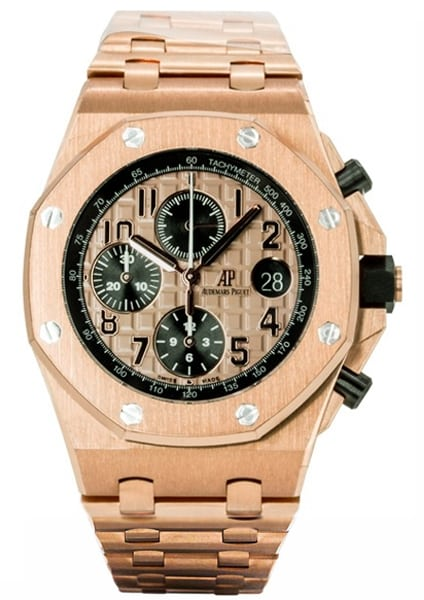 Audemars Piguet Royal Oak Offshore Chronograph Rose Gold 26470OR.OO.1000OR.01