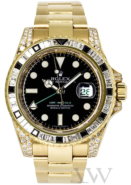 Rolex Oyster Perpetual GMT-Master II Yellow Gold 116718
