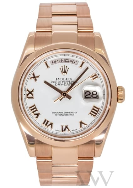 Rolex Oyster Perpetual Day-Date Rose Gold 118205