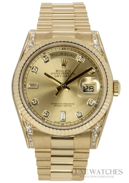 Rolex Oyster Perpetual Day-Date 118338