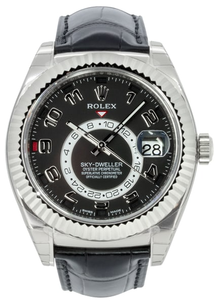 Rolex Oyster Perpetual Sky-Dweller White Gold 326139