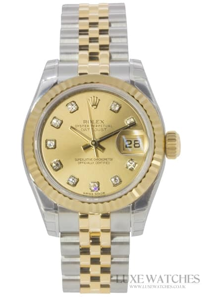 Rolex Oyster Perpetual Ladies Datejust 179173