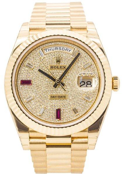Rolex Oyster Perpetual Day-Date 40 Yellow Gold