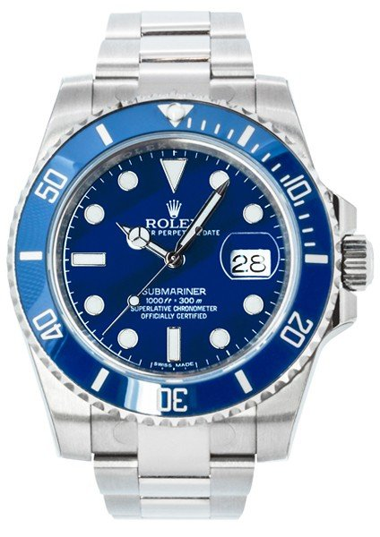 Rolex Oyster Perpetual Submariner White Gold 116619LB