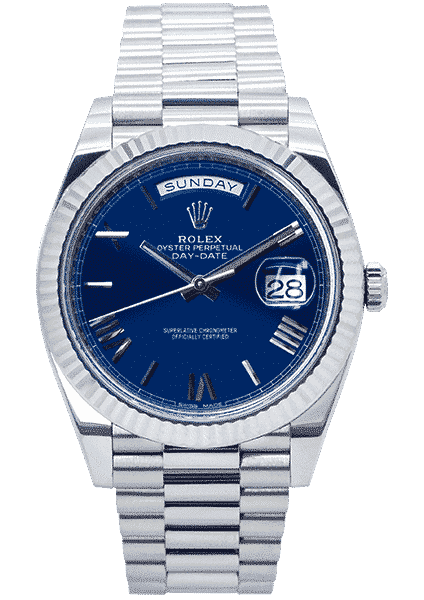 Rolex Oyster Perpetual Day-Date 40 White Gold 228239