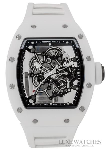 Richard Mille RM055 Bubba Watson TI White Edition