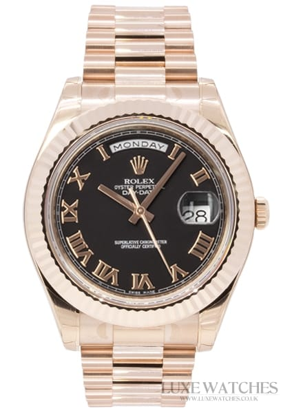 Rolex Oyster Perpetual Day-Date II Rose Gold
