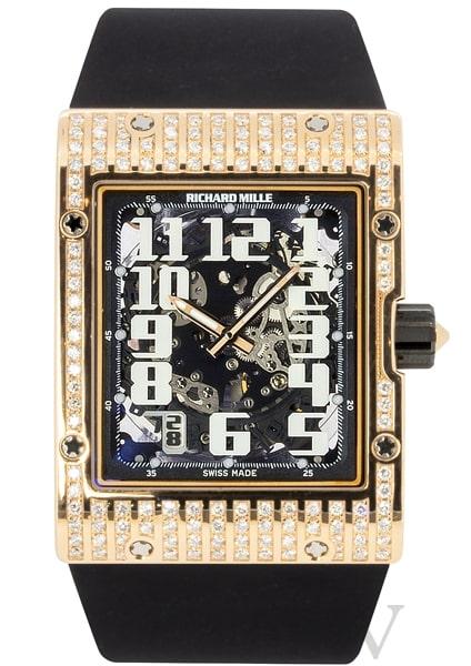 Richard Mille RM 016 'Ultra Flat' AH-RG With Original Diamonds