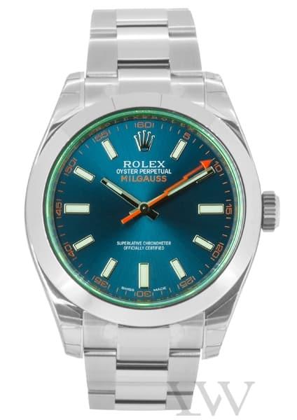 Rolex Oyster Perpetual Milgauss Z-Blue Dial