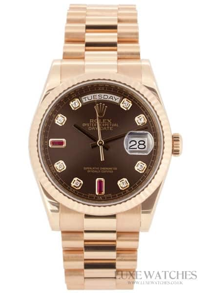 Rolex Oyster Perpetual Day-Date 'President' Rose Gold