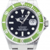 """Rolex Oyster Perpetual Submariner """"Kermit"""" Stainless Steel 16610LV"""