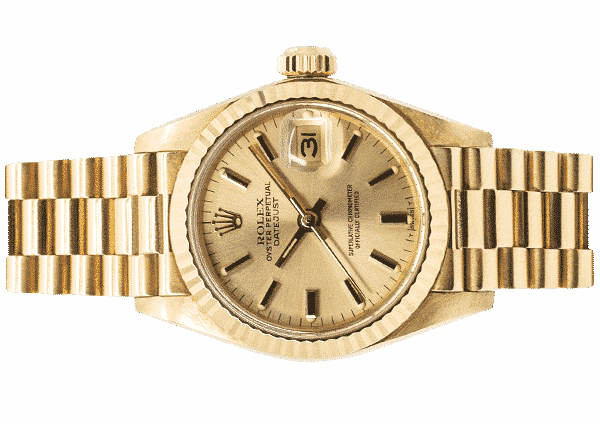 Rolex Lady-Datejust 26mm 18ct Yellow Gold 69178