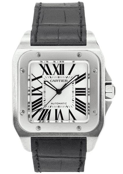 Cartier Santos 100 XL Stainless Steel W20073X8