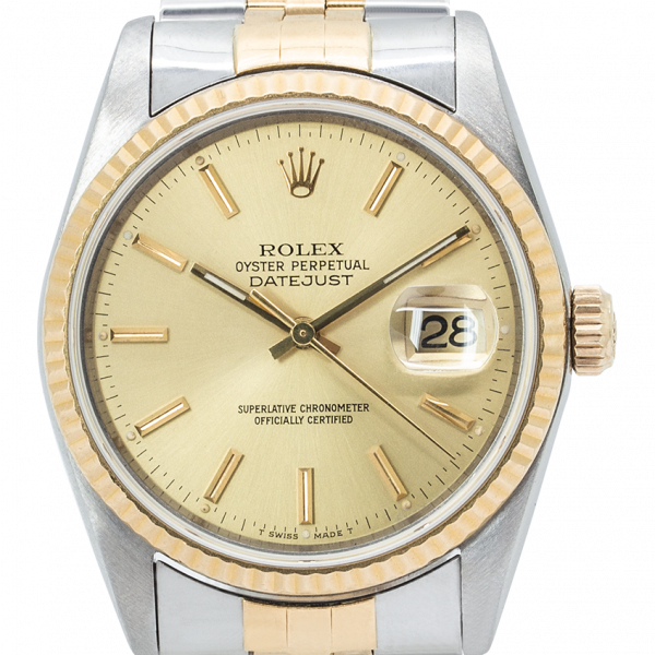 Rolex Oyster Perpetual Datejust 36 Bi-metal 16233