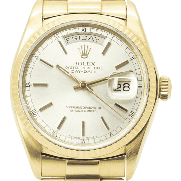 Rolex Oyster Perpetual Day-Date 36 Yellow Gold 18038