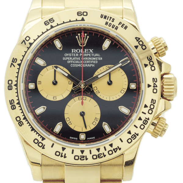 Rolex Oyster Perpetual Cosmograph Daytona Yellow Gold 116508